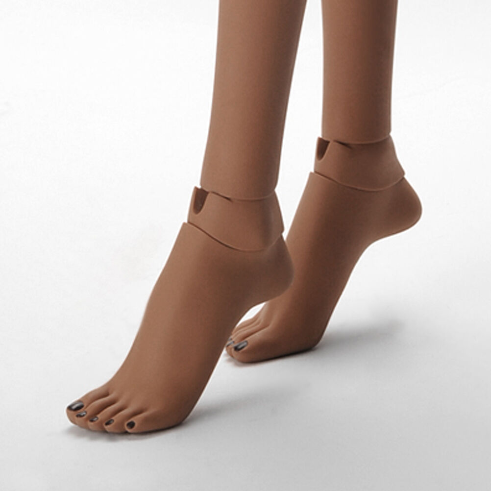 Dollmore Model Woman Feet Set - high heels Feet Set (Suntan-B)