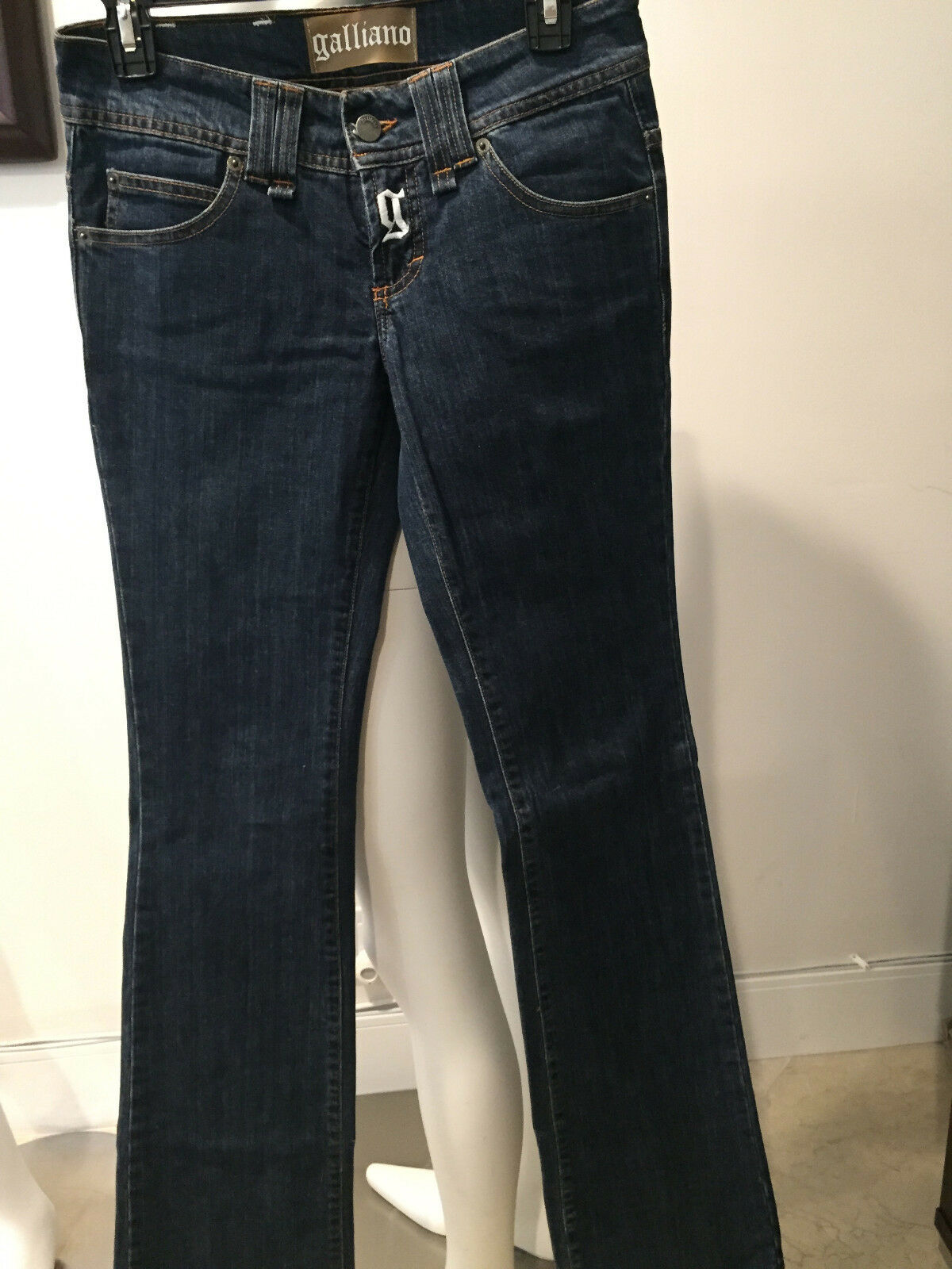 GALLIANO  ITALY WOMEN'S SKINNY JEANS SIZE  27 41    MH