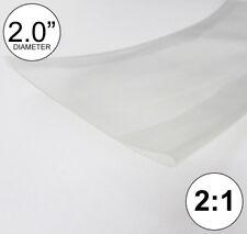 2 Id Clear Heat Shrink Tube 21 Ratio Polyolefin 20 Feetftto 50mm 8 Inch