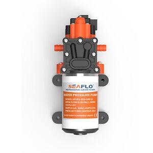 SeaFlo Marine Water Pressure Pump 12 V DC 60 PSI 5.5 GPM Boat *4 Year Warranty!*