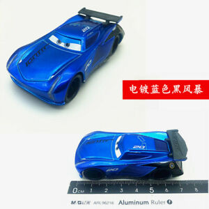 Cars 3 Toys Steel Blue Jackson Storm Diecast Toy Car 1 55 Loose Kids Vehicle Ebay