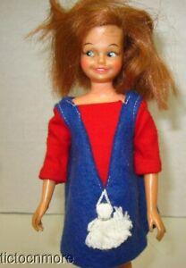 Vintage Ideal Red Head Dodi Doll 1964 Pepper Friend Tammy