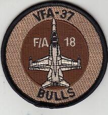 VFA-37 RAGIN' BULL DESERT F/A-18 SHOULDER  PATCH
