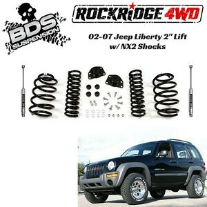 "Coil Spring Spacer Lift Kit >> BDS Suspension 2"" PRO-RIDE Coil Spring Lift Kit For Jeep Liberty KJ 2002-2007 