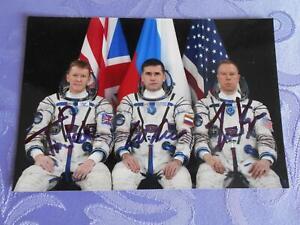 Sojus TMA-19M  Crewphoto original signiert Space