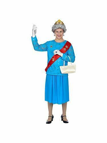 85863 Queen Adult Costume Blue