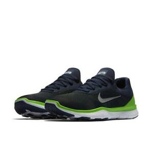 3c1408b77 Nike Free Trainer V7 Seattle Seahawks NFL Training Running Shoes New ...