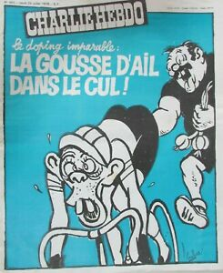 Charlie-View-No-401-Juillet-1978-Doping-Imparable-La-Pods-D-Garlic-in-the-Arse