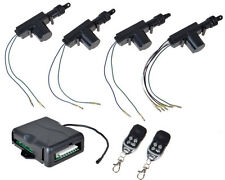 Universal Car Central Power Door Lock / Unlock Remote Kit Keyless Entry 4 Doors