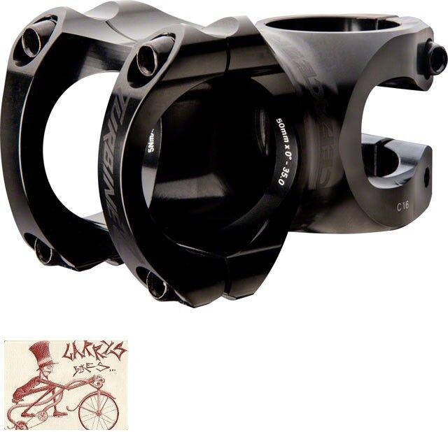 Race Face Turbine R alcance de  40 mm -- 35 mm + -0 grados Negro 1-1 8  Bicicleta Vástago  envío gratis