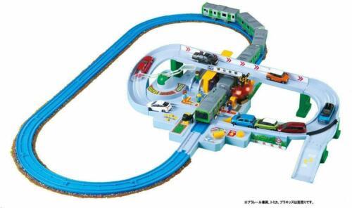 Cancan railroad crossing NEW Let/'s play with Plarail Tomica Kuruzo wataruzo