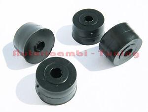 4-GOMMINI-DISTANZIALI-PORTA-TARGA-FIAT-500-VARIE-EPOCA-ALTI-13mm
