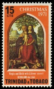 TRINIDAD-amp-TOBAGO-206-SG403-034-Virgin-and-Child-with-St-Anne-034-pa84963