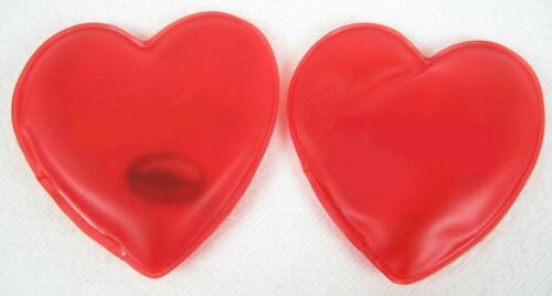 Poches Chauffe-Compresse cœur 2er Set réutilisables pour jusqu/'à 45 min de chaleur