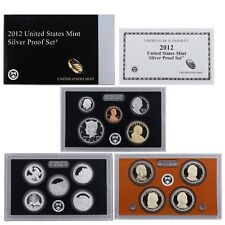 IN STOCK 2012 S PROOF Presidential Dollar Set 4 Coins-NO BOX//COA Ultra Cameo