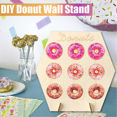 Weddings 2x HandMade Donut Walls Parties.