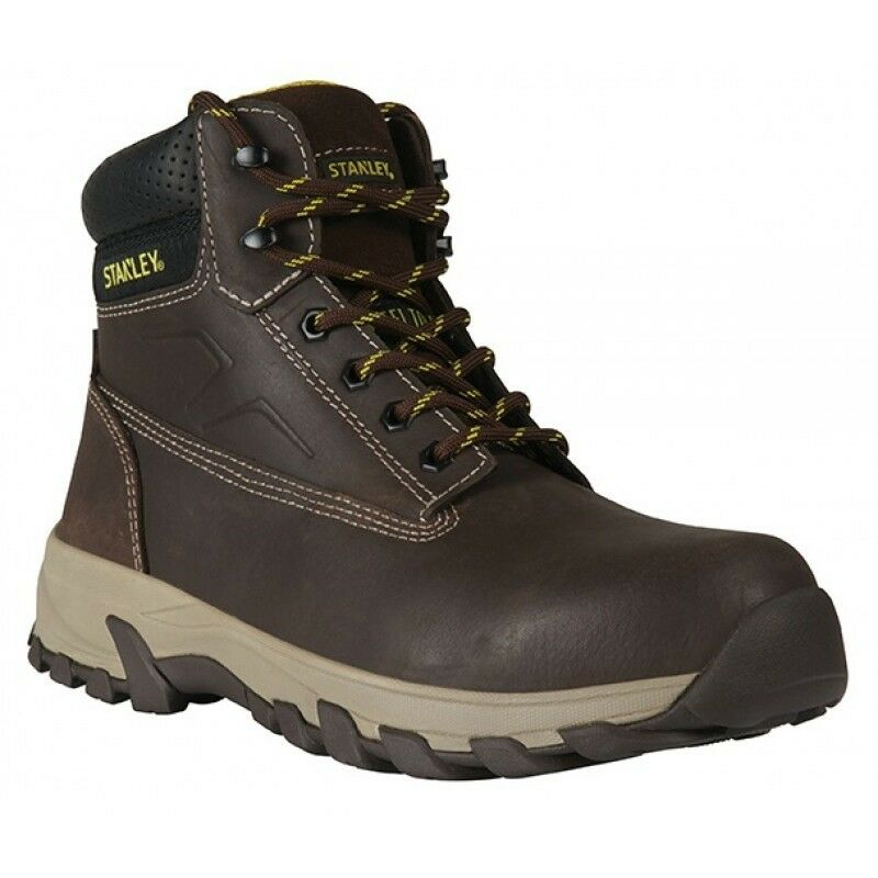 Stanley Tradesman Größe Braun Leder Safety Work Boot Größe Tradesman 11 Special offer 7a1b86