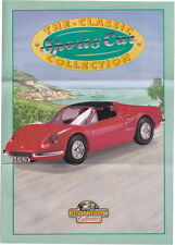 "Matchbox Collectibles Dinky Serie ""The Classic Sports Car Collection"" Prospekt"
