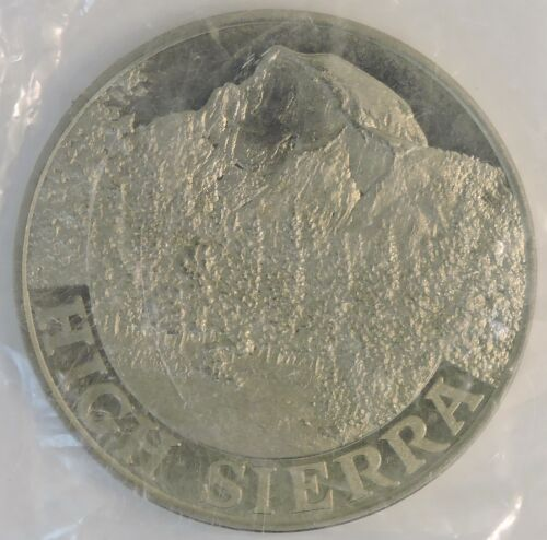 "L72 /""High Sierra/"" The Californias Collection Commemorative Medallion"