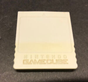 Official-Nintendo-GameCube-Memory-Card-Authentic-Gray-DOL-008-Tested