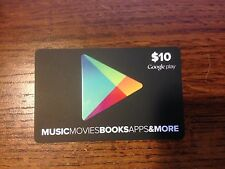 Google Play Gift Card $10 value