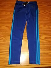 4383feba1e0686 item 5 NWT $60 ADIDAS Women's Three Stripes 7/8 Tight High-Rise Pants BLUE  Size Small -NWT $60 ADIDAS Women's Three Stripes 7/8 Tight High-Rise Pants  BLUE ...