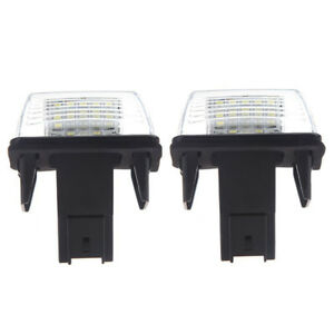 2pcs-SMD-LED-Placa-Matricula-Coche-Lampara-for-Peugeot-206-207-306-307-I6F5