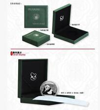 2016 China Panda 1oz .999 Silver Coin With Original Box (UNC)