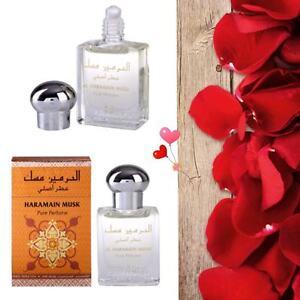 Musk Attar Perfume Oil 15ml Roll on Aldehyde Rose Musk Ittar Al Haramain