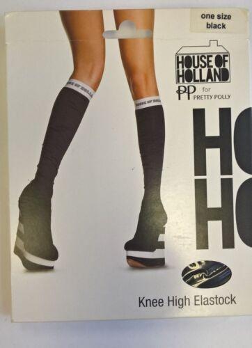 Fun /& Funky Festival Knee High Elastock Henry Holland Pretty Polly