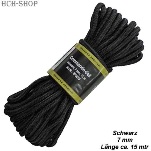 0,67 €//m MFH COMMANDO corde tau Corde Ficelle différentes couleurs ø 7//15 mètres
