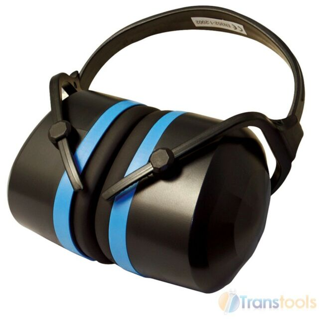 Silverline Expert Folding Ear Defenders 33dB Hearing Protection Muffs 868768