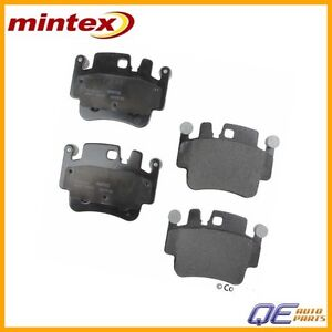 MINTEX FRONT AXLE BRAKE PADS FOR PORSCHE MDB2417 REAL IMAGE OF PART