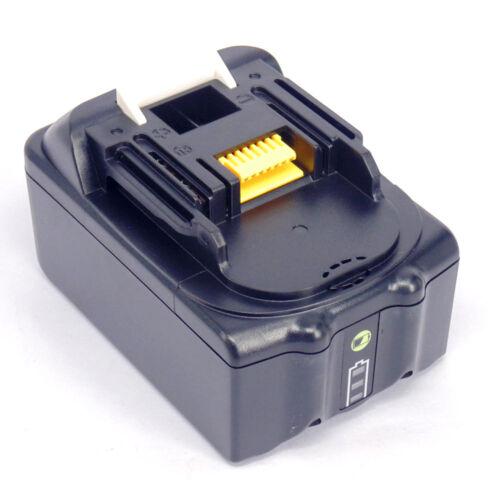 2x Makita LED 18V Akku 5.0Ah BL1850B BL1840 BL1830B Lithium-ion LXT400 194204-5