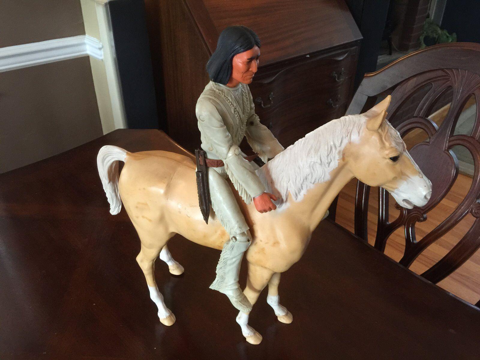 Tonto, marx spielzeug 1967 mit pferd