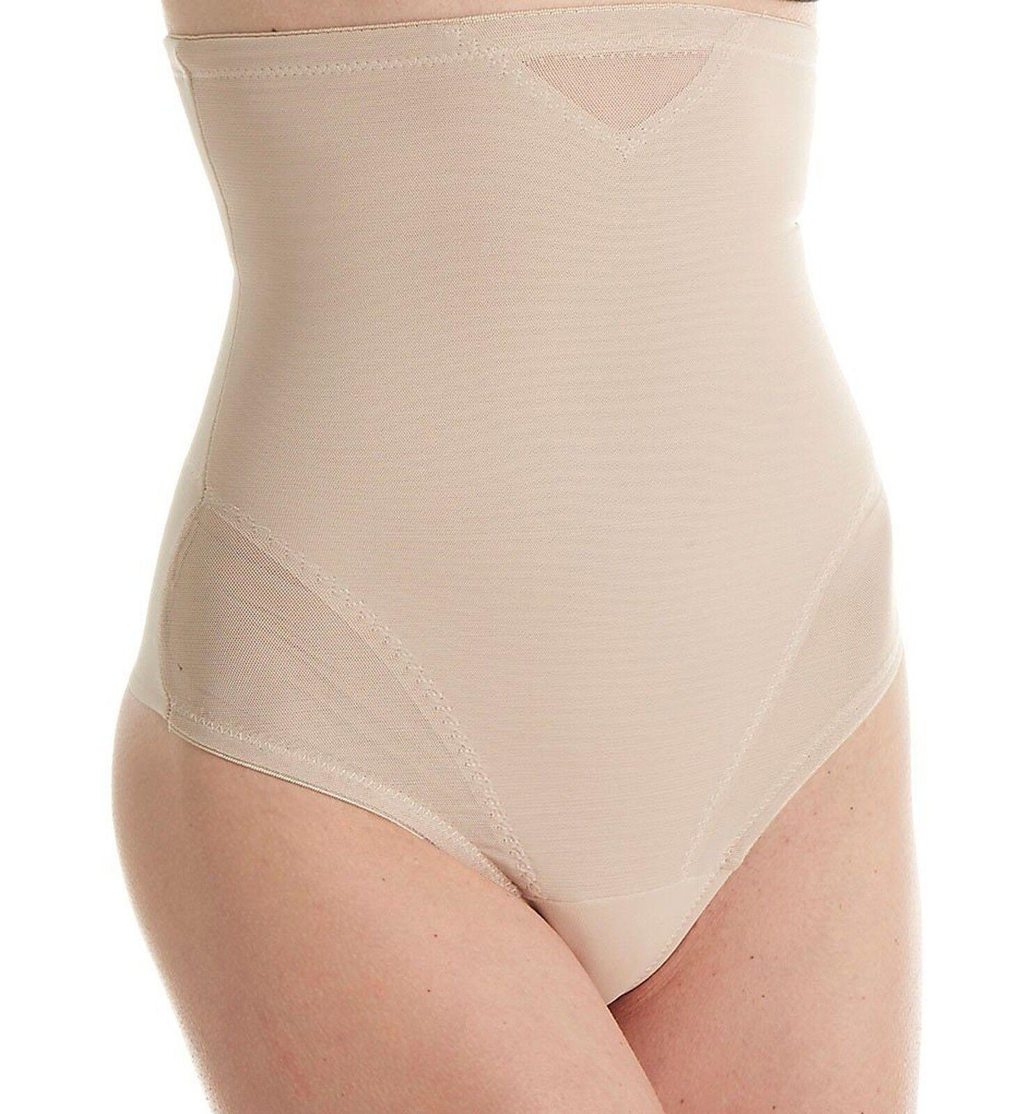 Miraclesuit Shapewear Women's Sheer Extra Firm Shaping High Waist Thong