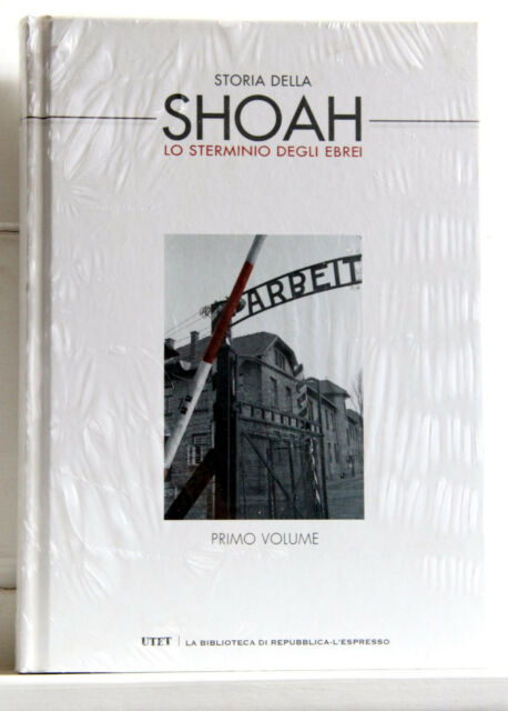 STORIA DELLA SHOAH Lo sterminio degli Ebrei libro 1 e DVD Processo di Norimberga