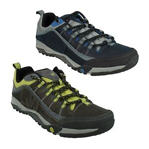 merrell mens helixer distort leather lace up casual