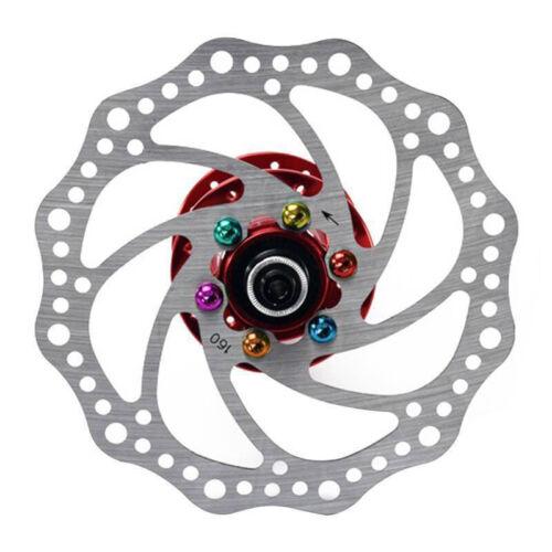 12 Pcs Titanium Ti M5x10mm Screws Torx T25 Bicycle Head Disc Brakes Rotor Bolts
