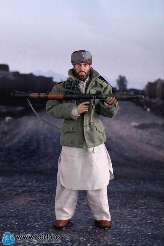 DID Afganistán Civil Combatiente 2- Arbaaz Figura de Acción Soviet-Afghan War