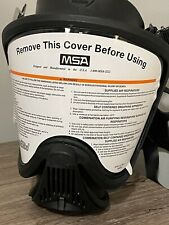 Msa Ultra Elite Full Face Respirator With New Cbrn Filter Exp 2023gas Mask