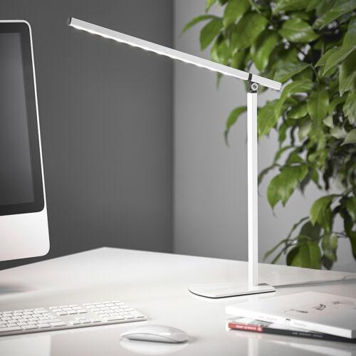 Design LED Schreibtischlampe Bürolampe Leselampe Tischlampe dimmbar Weiß T40-4