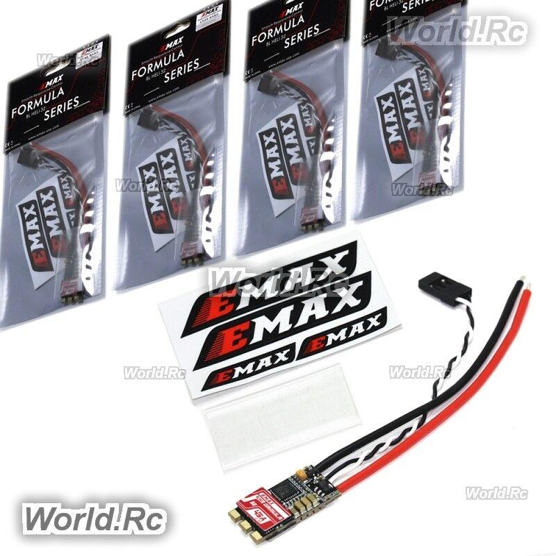 4 PZ EMAX FORMULA SERIE 45A Esc Il supporto blheli - 32 2s - 5S PER DRONE FPV Racing