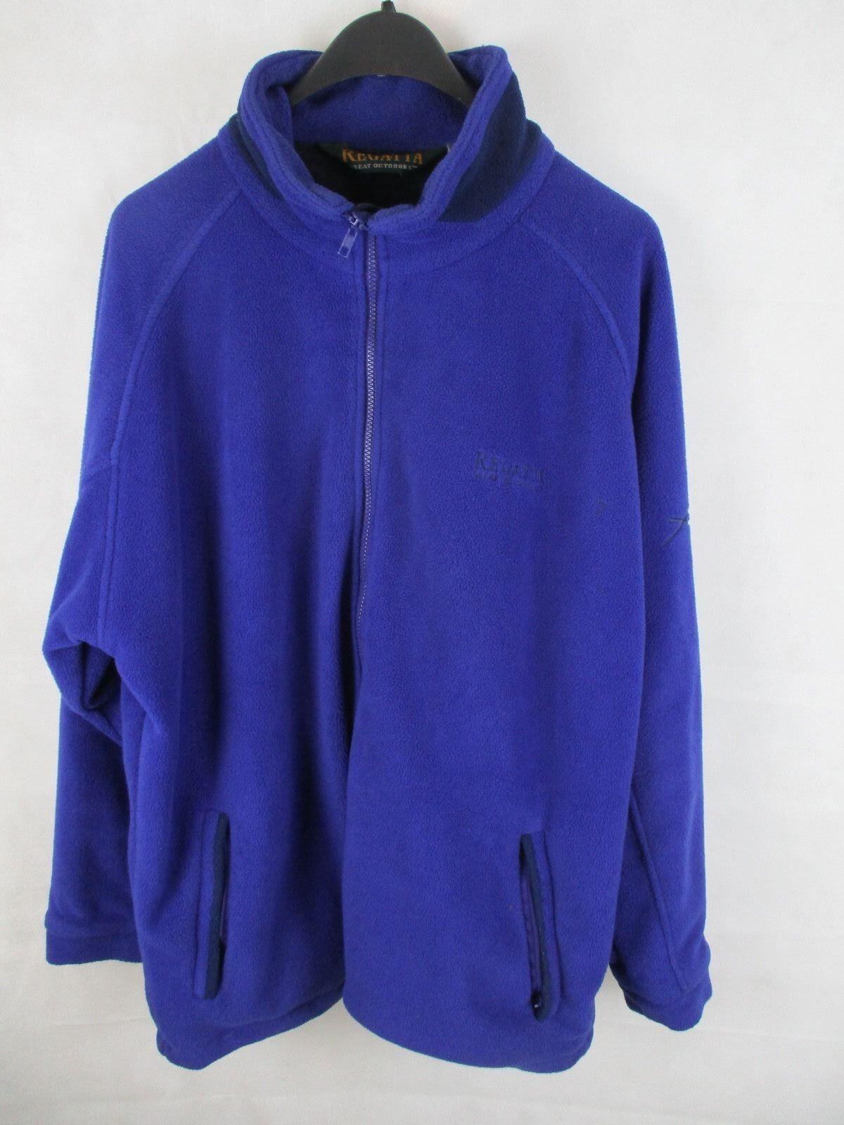 Veste doublée chaude Regatta Outdoor pour hommes - Taille XL - Bleu royal