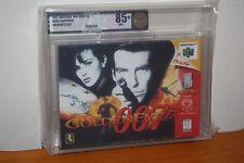 GoldenEye 007 (Nintendo 64 N64) NEW SEALED FIRST PRINT, MINT GOLD VGA 85+ RARE!