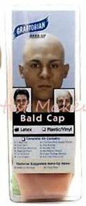 Graftobian-Latex-Bald-Cap-Full-Color-Instructions-Theater-Halloween-Special-FX