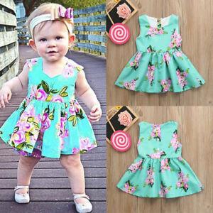 Baby-Girls-Infant-Kids-Floral-Print-Sundress-Clothes-Princess-Casual-Dress