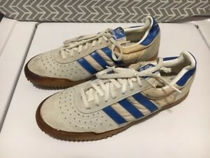 M'S VTG BRAND NEW 80'S ADIDAS INDOOR COURT SOCCER SHOES SIZE 11.5 ...