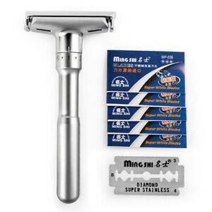 manuel-rasoir-rasoir-de-surete-avec-5-Double-face-l-039-epilation-rasoir