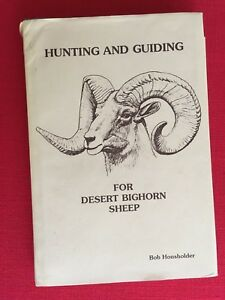 La Chasse Et De Guidage Pour Desert Mouflon D'amérique Par Bob Housholder (no 69 De 500)-afficher Le Titre D'origine